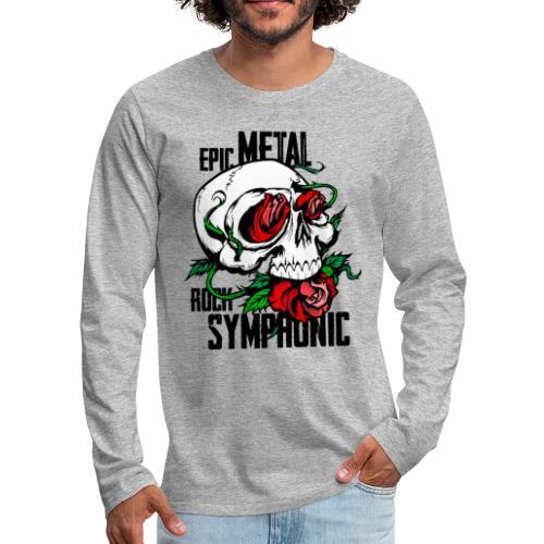 epic rock symphonic - Men's Premium Long Sleeve T-Shirt