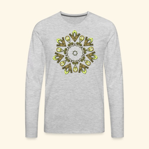 Celtic Motif - 3 - Men's Premium Long Sleeve T-Shirt