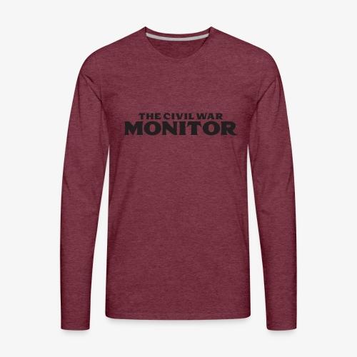 CWM LOGO BLACK - Men's Premium Long Sleeve T-Shirt