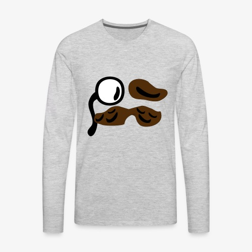 mustachio - Men's Premium Long Sleeve T-Shirt