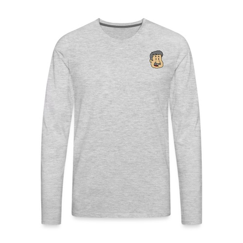 Simple Logo - Men's Premium Long Sleeve T-Shirt