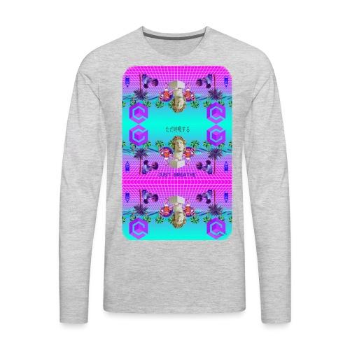 Aesthetisc Design - Men's Premium Long Sleeve T-Shirt