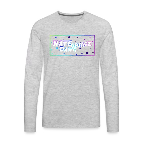 NateDawg Gamez Merch - Men's Premium Long Sleeve T-Shirt