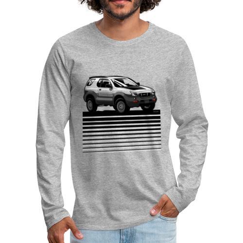 VX SUV Lines - Men's Premium Long Sleeve T-Shirt