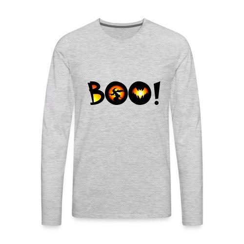 Happy Halloween Boo 2 - Men's Premium Long Sleeve T-Shirt