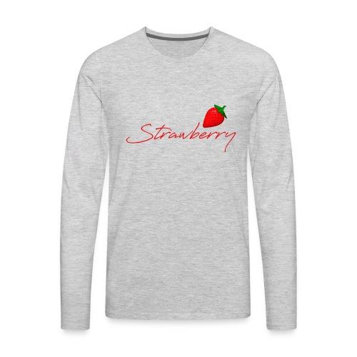 Strawberry Forever 1 - Men's Premium Long Sleeve T-Shirt