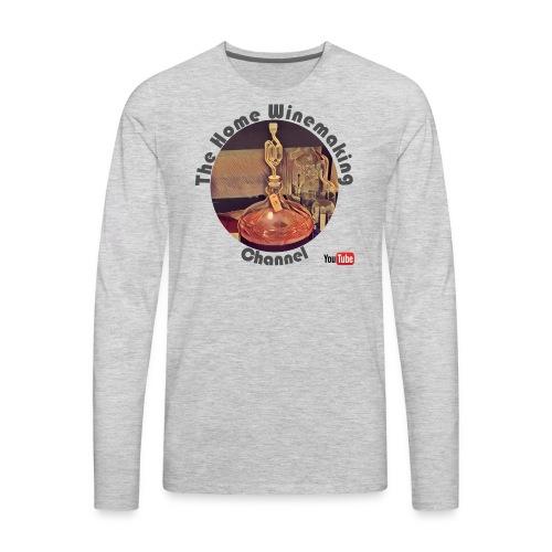 Carboy Grey Words - Men's Premium Long Sleeve T-Shirt