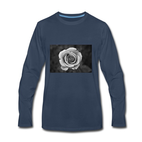 dark rose - Men's Premium Long Sleeve T-Shirt