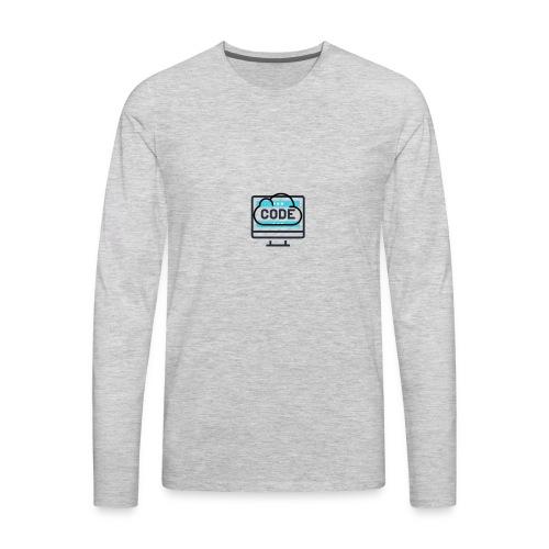 #CodesIsTheBestOwner - Men's Premium Long Sleeve T-Shirt