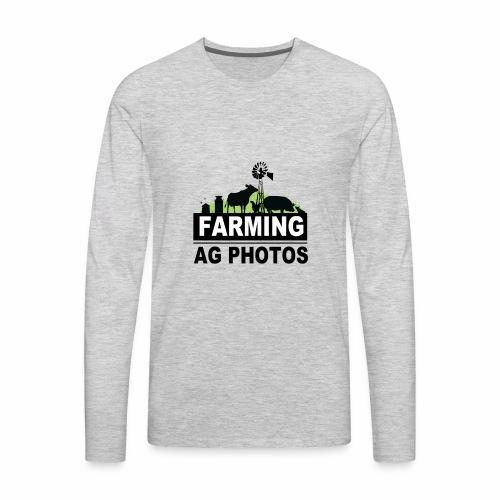 Farming Ag Photos - Men's Premium Long Sleeve T-Shirt