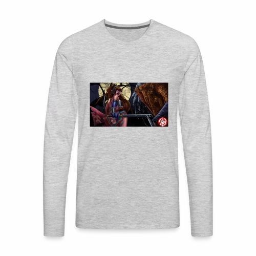Anime Demon Hunter - Men's Premium Long Sleeve T-Shirt
