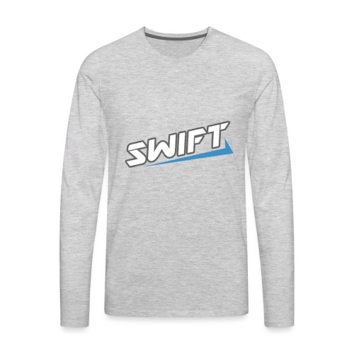 Swift T-Shirt - Men's Premium Long Sleeve T-Shirt