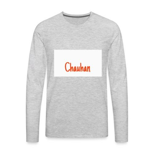 Chauhan - Men's Premium Long Sleeve T-Shirt