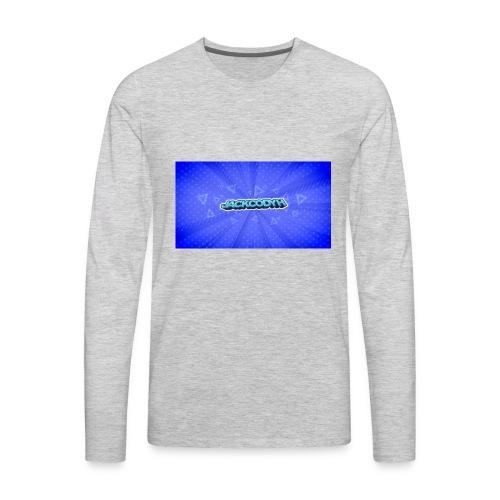 JackCodyH logo - Men's Premium Long Sleeve T-Shirt