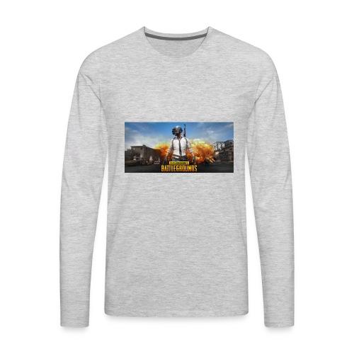 pubg 1 - Men's Premium Long Sleeve T-Shirt