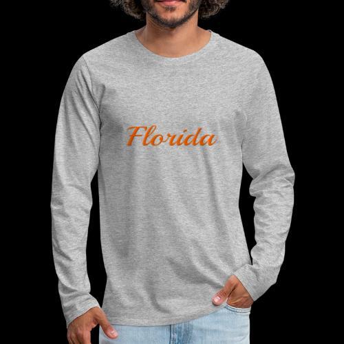 Florida - Men's Premium Long Sleeve T-Shirt