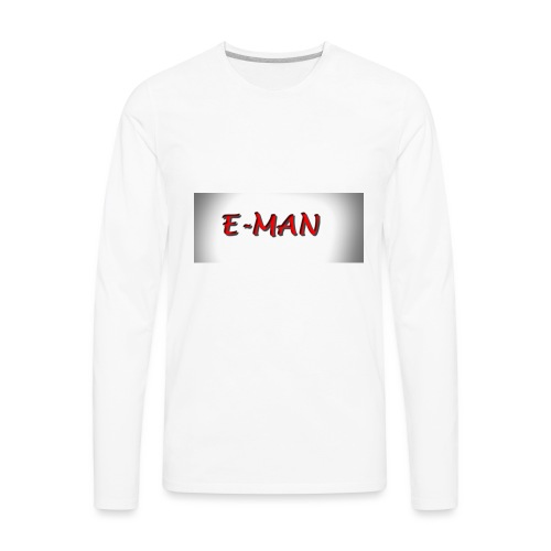 E-MAN - Men's Premium Long Sleeve T-Shirt
