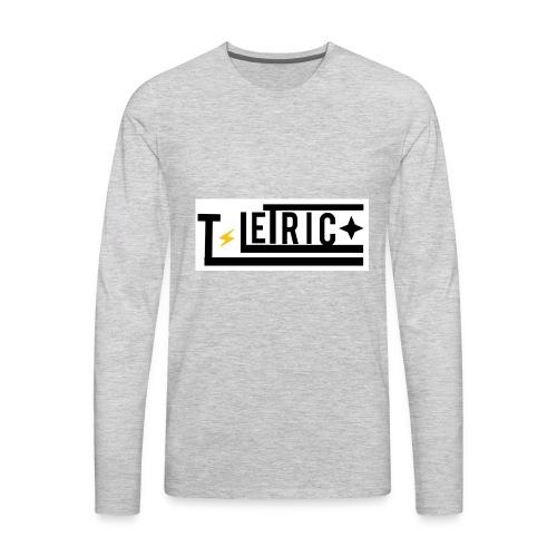 T-LETRIC Box logo merchandise - Men's Premium Long Sleeve T-Shirt