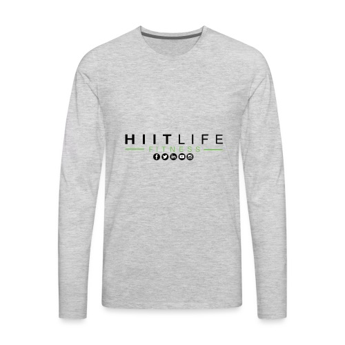 HLFLogosocial - Men's Premium Long Sleeve T-Shirt