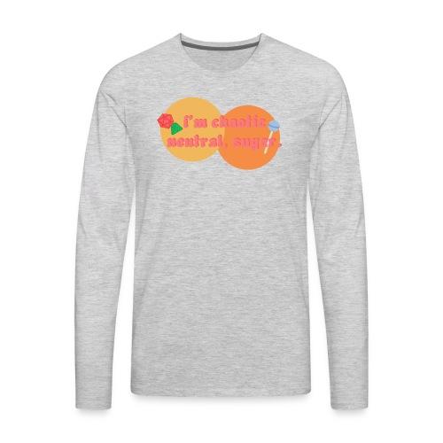 Chaotic Neutral - Men's Premium Long Sleeve T-Shirt