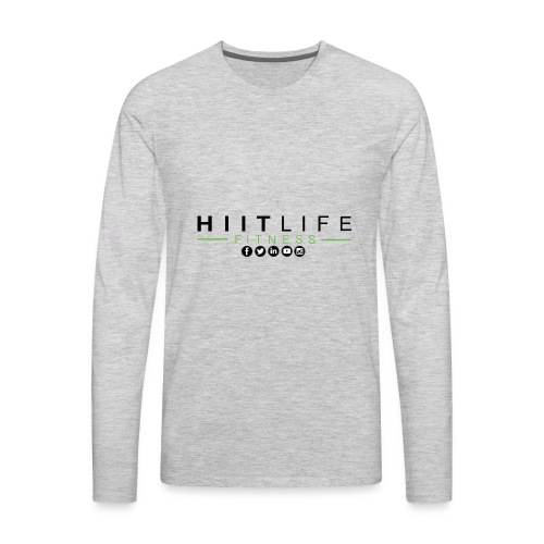 HLFLogosocial - Men's Premium Long Sleeve T-Shirt