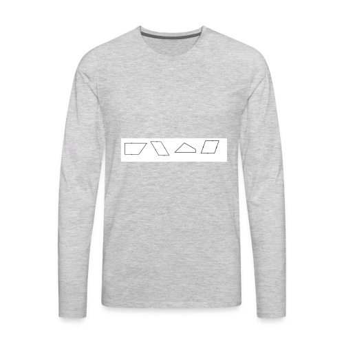 Shapes - Men's Premium Long Sleeve T-Shirt