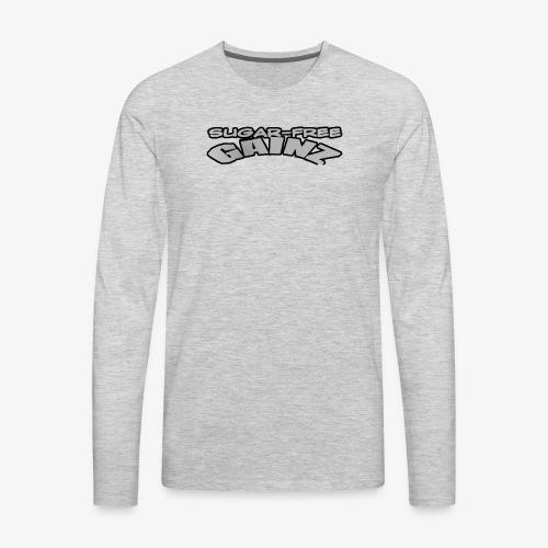 greylogo - Men's Premium Long Sleeve T-Shirt