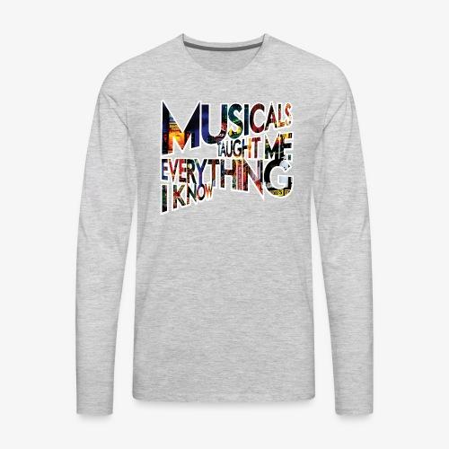 MTMEIK Broadway - Men's Premium Long Sleeve T-Shirt