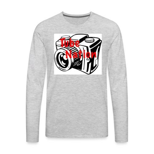 Tube Nation Camera T-shirts - Men's Premium Long Sleeve T-Shirt