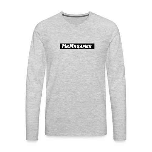 MrMrgamer - Men's Premium Long Sleeve T-Shirt