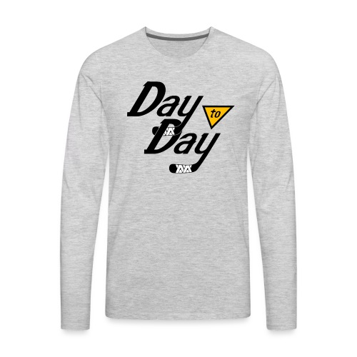 Day to Day - Men's Premium Long Sleeve T-Shirt