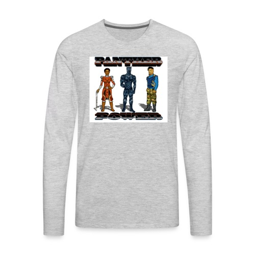 Panther Power - Men's Premium Long Sleeve T-Shirt