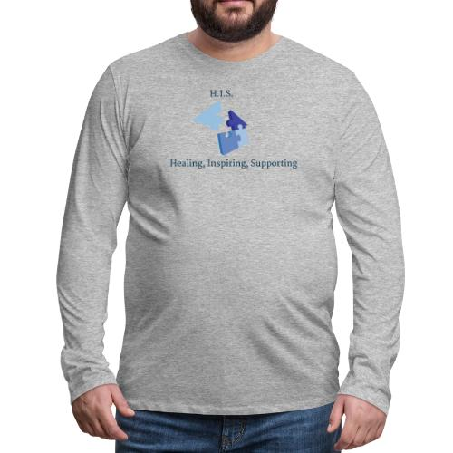 Signature HIS Tee - Men's Premium Long Sleeve T-Shirt