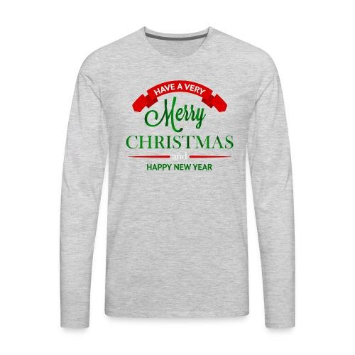 Have a Merry Christmas Decoration PNG Clipart 28 - Men's Premium Long Sleeve T-Shirt