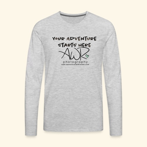 Your adventure starts here - Men's Premium Long Sleeve T-Shirt