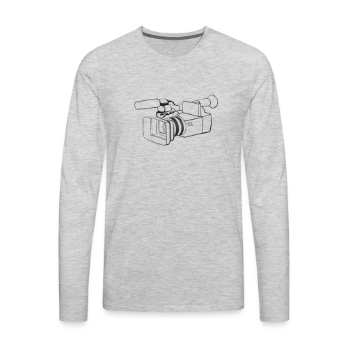 Camcorder Video Camera - Men's Premium Long Sleeve T-Shirt