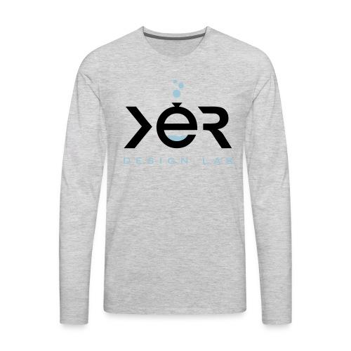 xer logo black - Men's Premium Long Sleeve T-Shirt