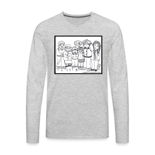 The Extreme Dieters - Men's Premium Long Sleeve T-Shirt