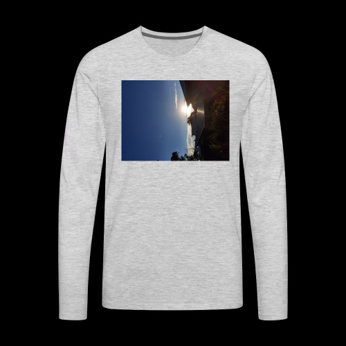 we dont sleep alone - Men's Premium Long Sleeve T-Shirt