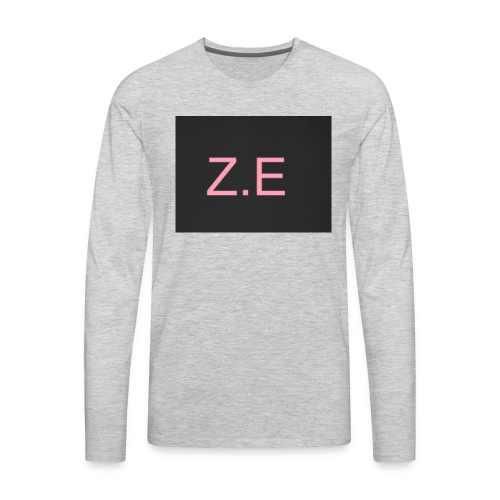 Zac Evans merch - Men's Premium Long Sleeve T-Shirt