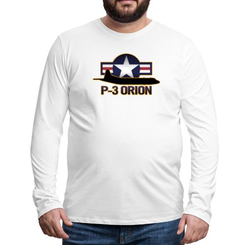 P-3 Orion - Men's Premium Long Sleeve T-Shirt