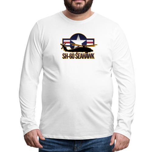 SH 60 sil jeffhobrath MUG - Men's Premium Long Sleeve T-Shirt
