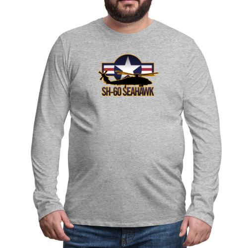 SH 60 sil jeffhobrath MUG - Men's Premium Long Sleeve T-Shirt