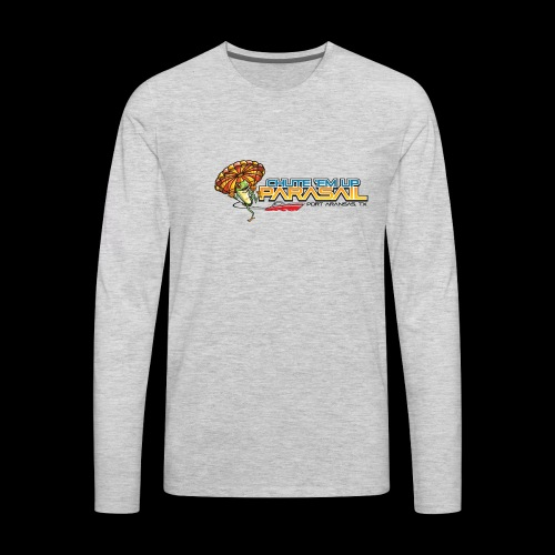 Chute 'Em Up Gear - Men's Premium Long Sleeve T-Shirt