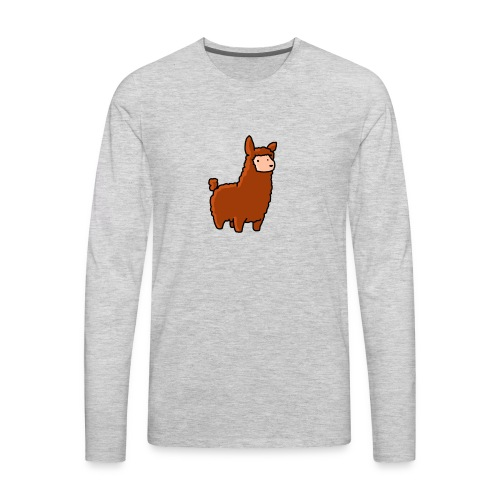The lama - Men's Premium Long Sleeve T-Shirt
