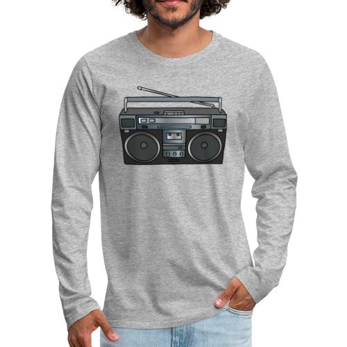 Boombox - Men's Premium Long Sleeve T-Shirt