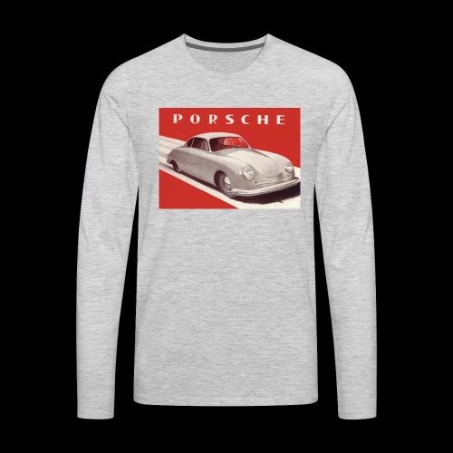 356 old car design - Men's Premium Long Sleeve T-Shirt