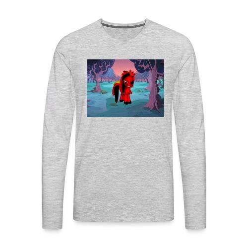 midnight warrior - Men's Premium Long Sleeve T-Shirt