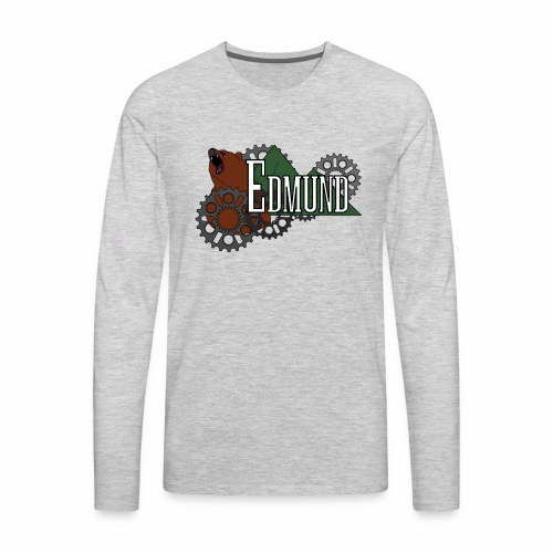 mountain bear - Men's Premium Long Sleeve T-Shirt