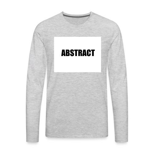 ABSTRACT - Men's Premium Long Sleeve T-Shirt